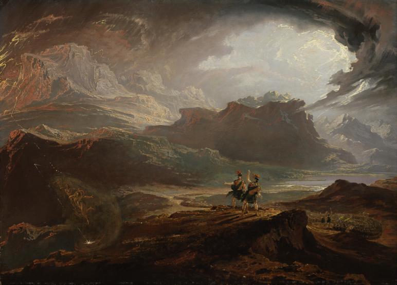 "John Martin - ""Macbeth"" - National Gallery of Scotland"
